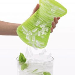 Lekue C'rush Cocktail Ice crusher Silikon 2-pack Limegrønn