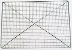 Avsvalningsgaller Pralingaller Finmaskigt 45 cm x 32 cm Rostfritt