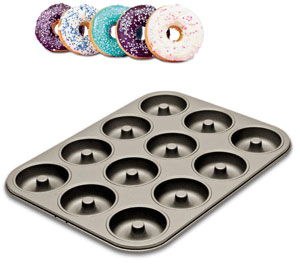 Donut Form Non-stick 12 st