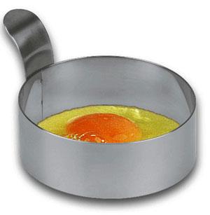 Eggring i rustfritt stål