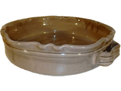 Gerbera Rund Gratängform Provence Betong B: 24 H: 7 cm
