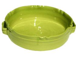 Gerbera Rund Gratängform Provence Lime B: 24 H: 7cm