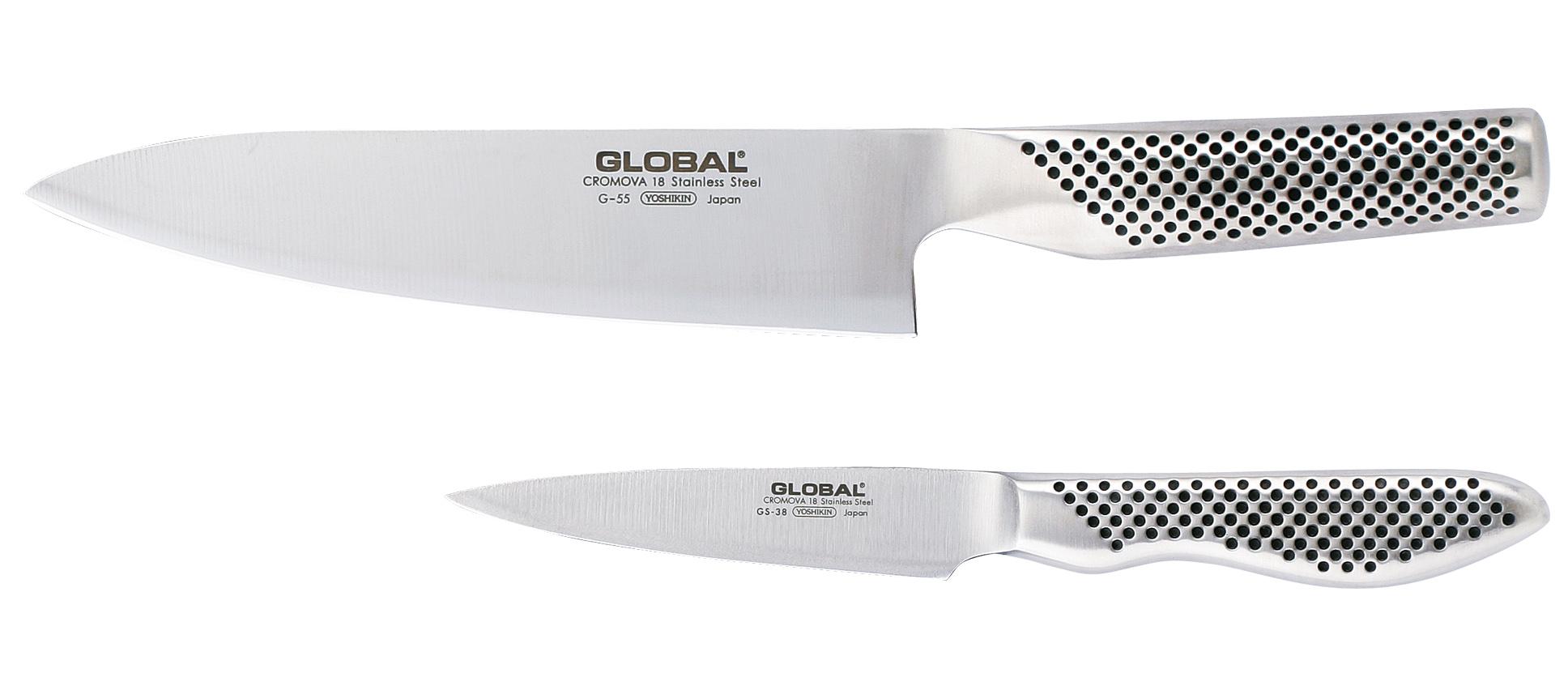 Global Knivsett G-5538 med G-55 og GS-38