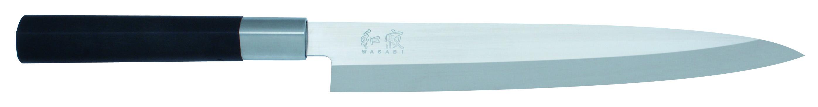 KAI Wasabi Black Yanagibakniv 21 cm