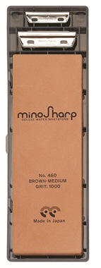 Mino Sharp Slipestein #1000 med to fiksturer