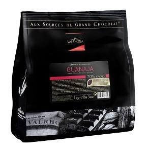 Valrhona Grand Cru Guanaja 70% 1Kg Pellets