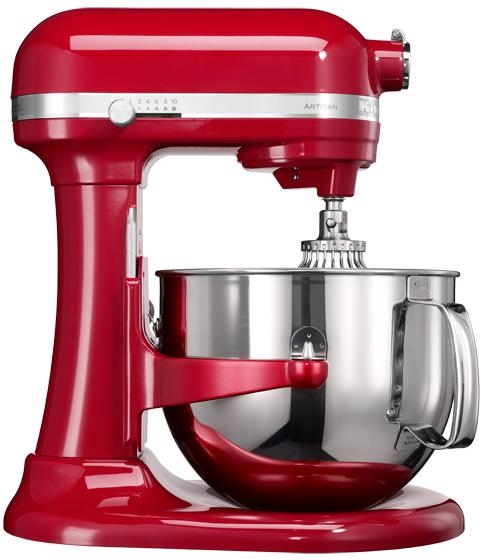 KitchenAid Artisan 7580EER Lyftarm 69 liter Röd