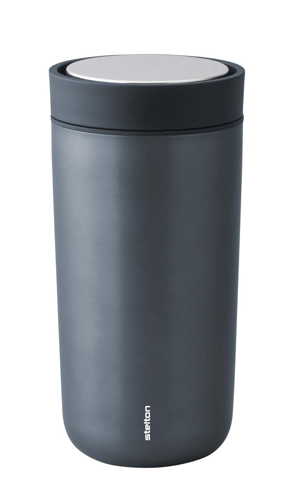 Stelton To Go Click d. steel 0,4 l. - dark blue, metallic