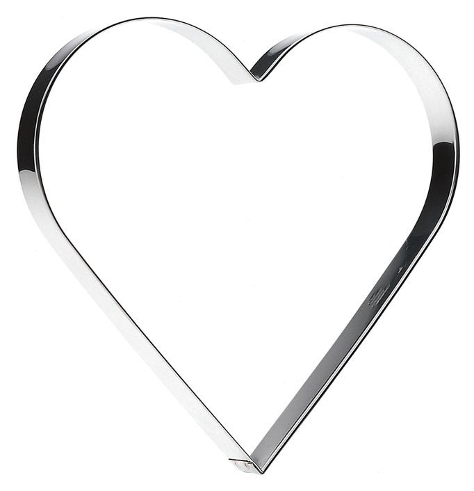 Pepparkaksform Hjärta Stort 20 cm