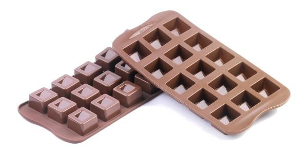 Silikomart Easy Choc Pralinform Cube