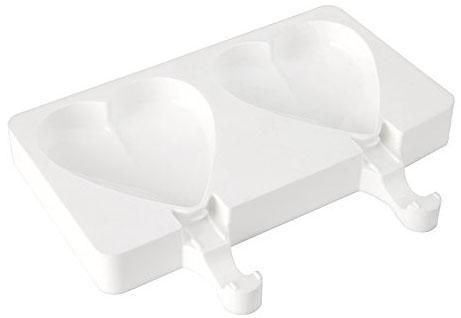Silikomart Easy Cream 2st Glassformar Heart
