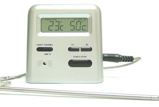 Viking Steketermometer med timer