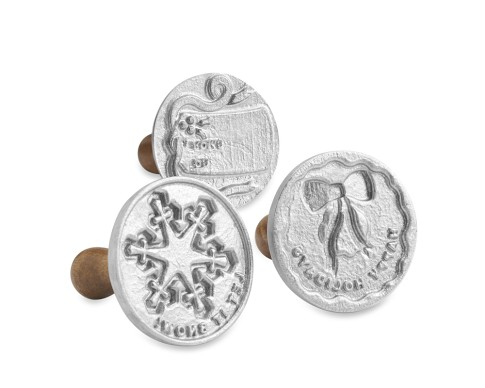 Nordic Ware Holiday Cookie Stamps Set