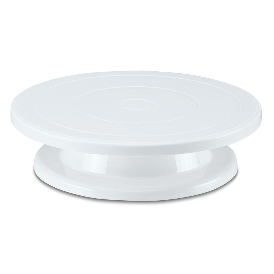 Tårtsnurra Vit Plast Dia 275 cm