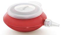 Lékué Decopen Dekorsprits Silikon Röd med fyra munstycken