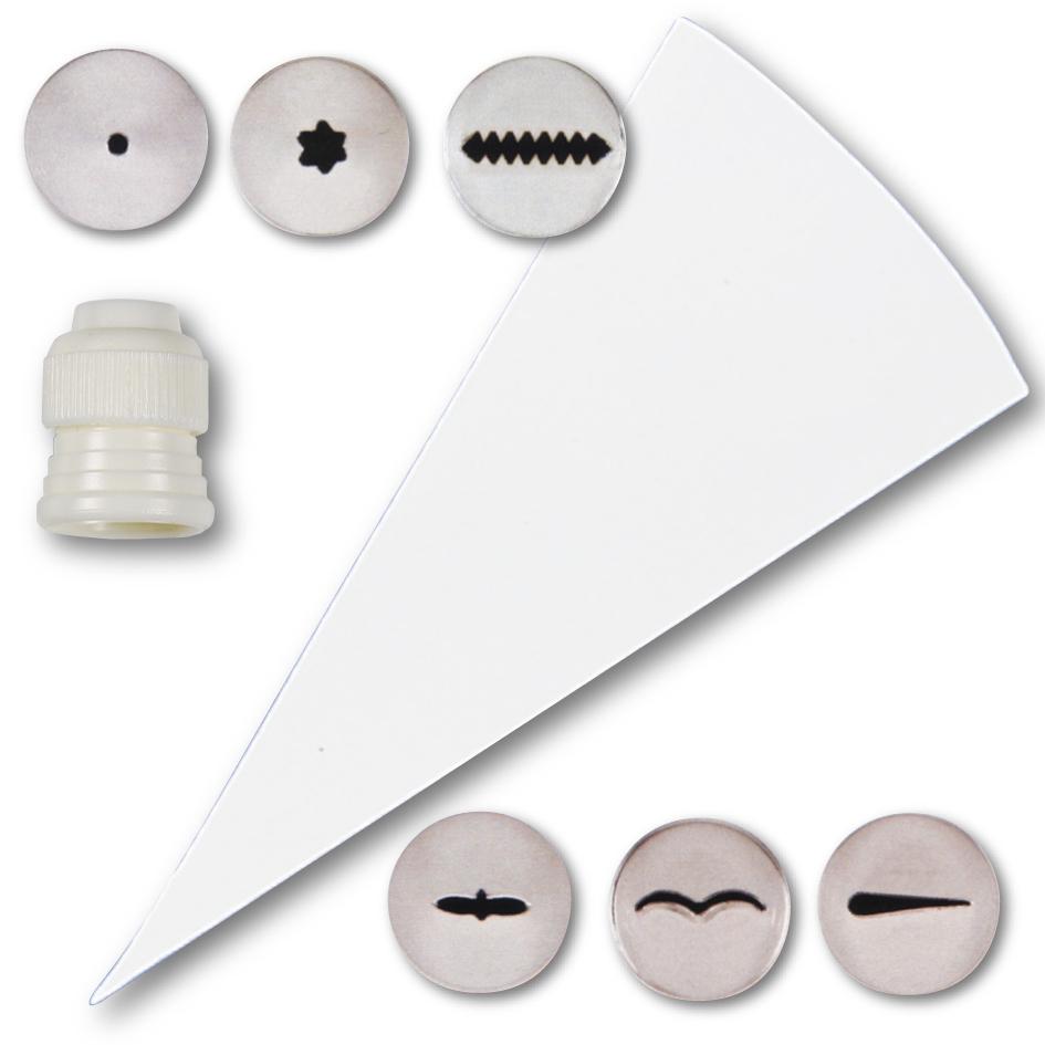 Sprøytesett 8 deler Mini