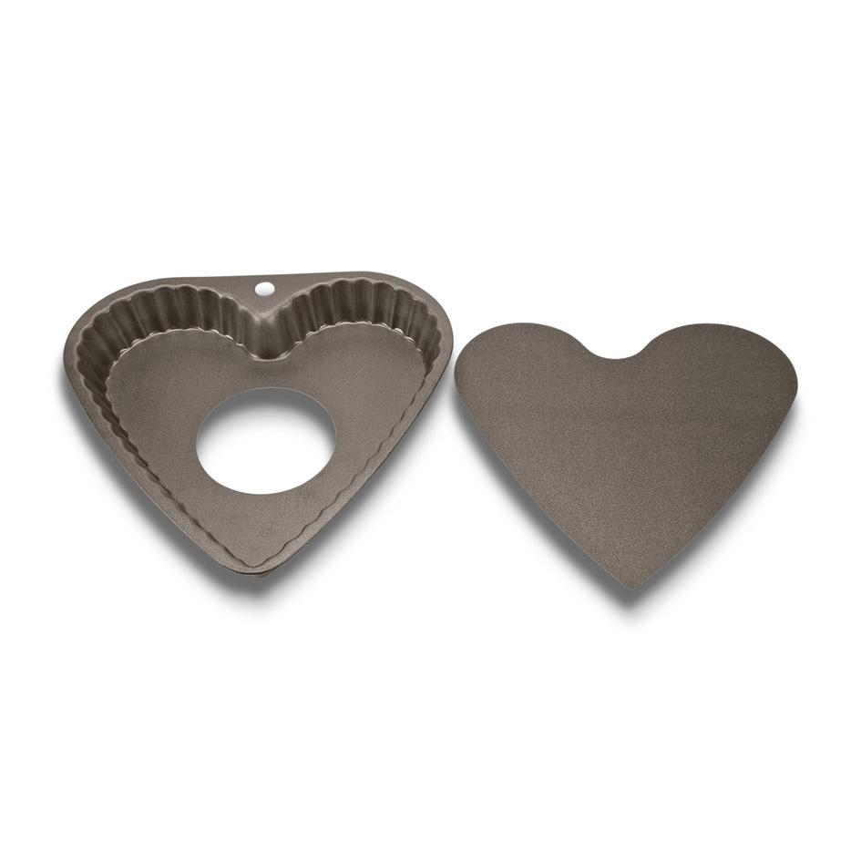 Pajform Hjärta med lös botten 23 cm