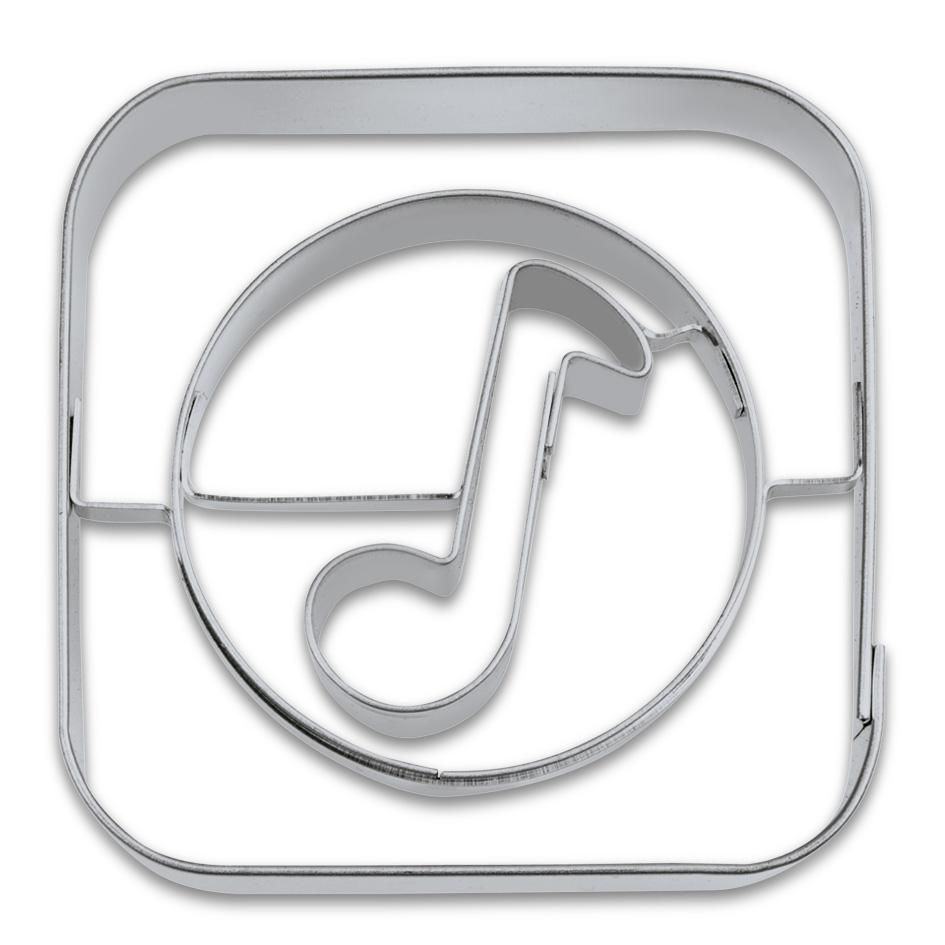 Kakform Utstickare App Musik