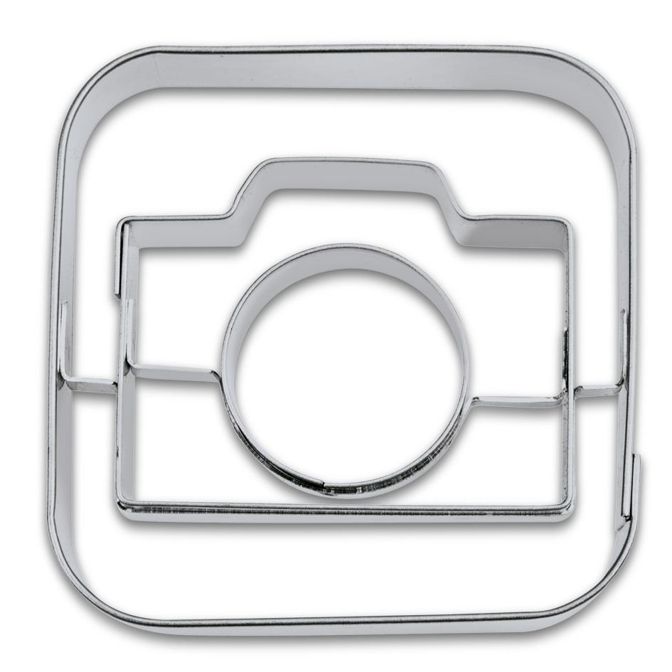 Kakform Utstickare App Kamera