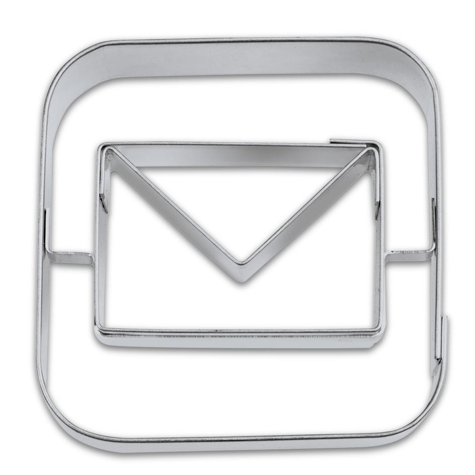 Kakform Utstickare App Mail