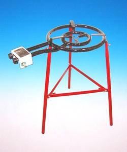Ställning 3st ben med förstärkning till gasbrännare