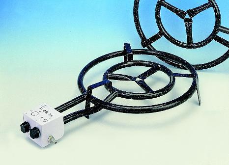 Gasbrännare M-400 gasol med 2 ringar
