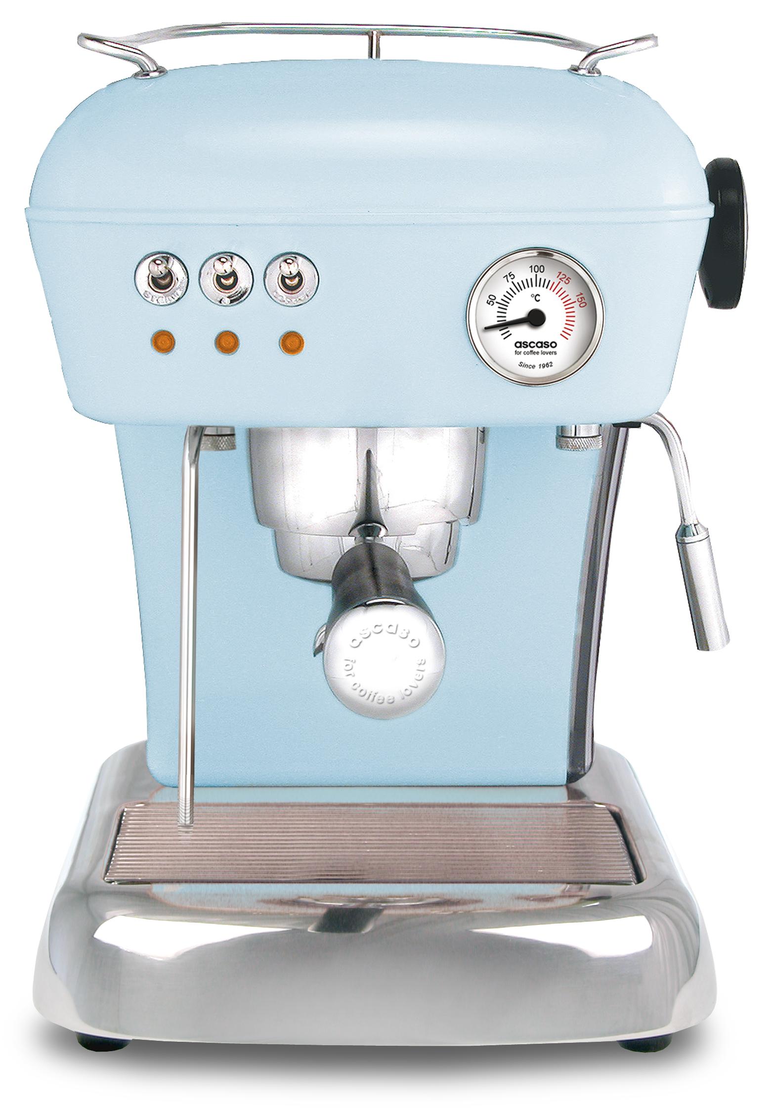 Ascaso DREAM Espressomaskin Ljusblå