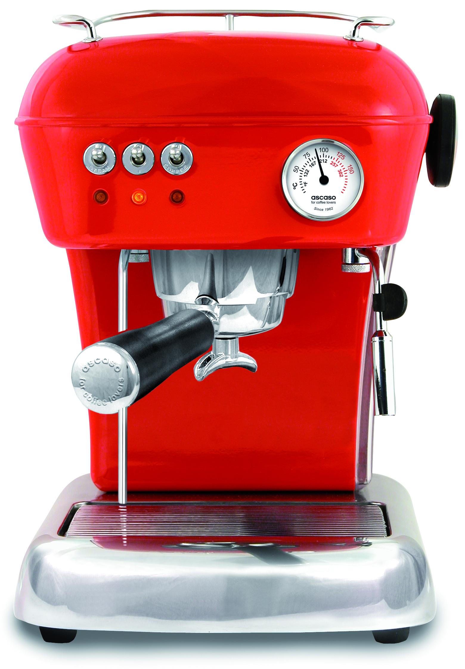 Ascaso DREAM Espressomaskin Röd