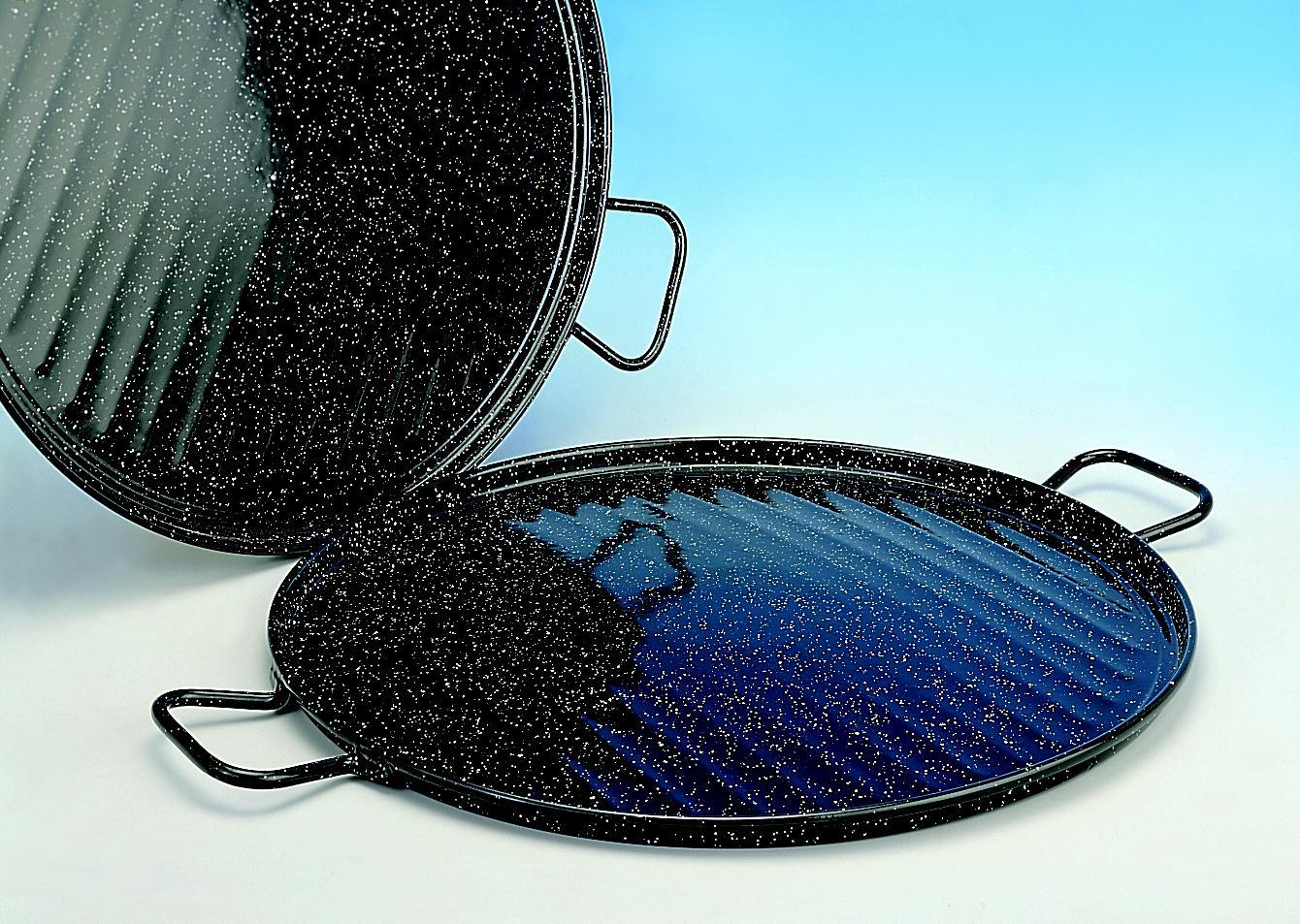 Grillplatta för gasbrännare eller grill dia 46cm