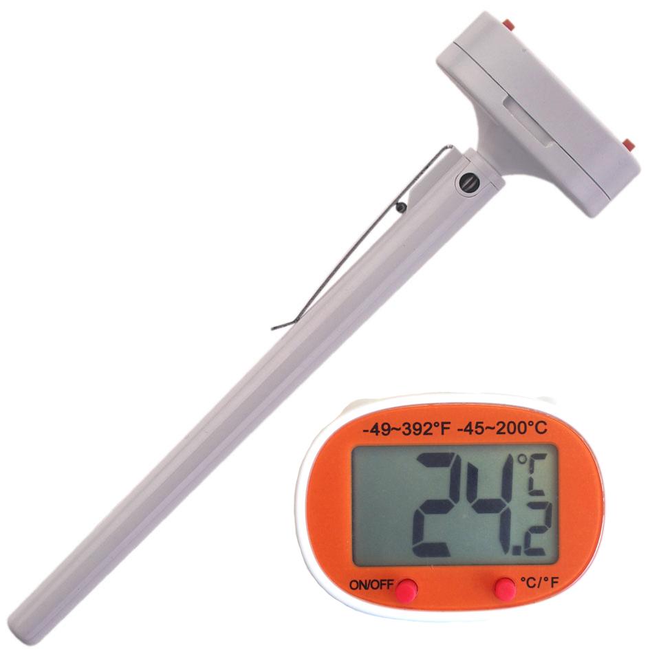 Digital Hushållstermometer med hållare