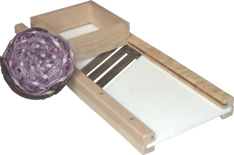 Kålhyvel (Krauthobel) 60 x 23 x 5 cm