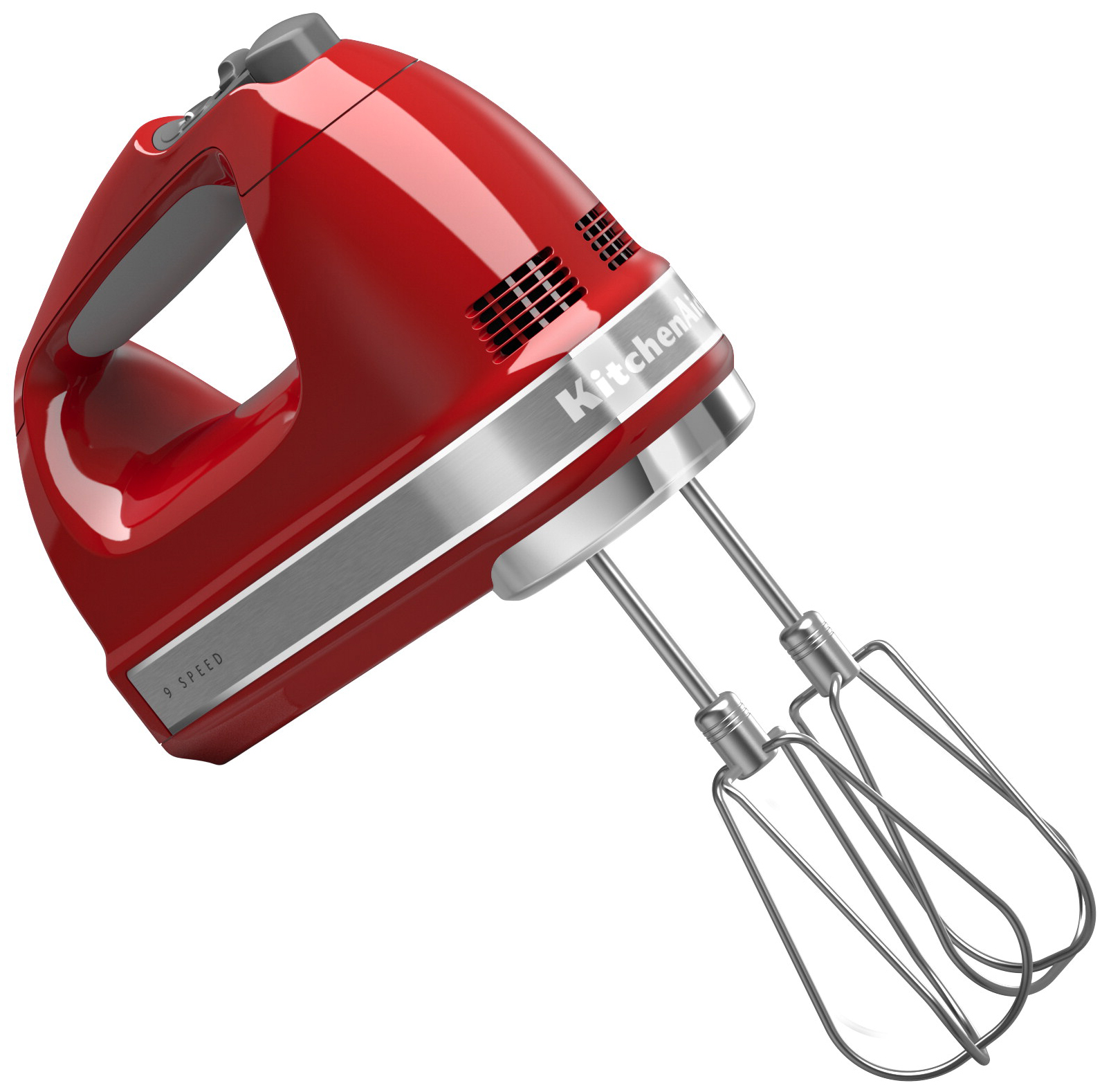 KitchenAid Elvisp 9 Hastigheter Röd