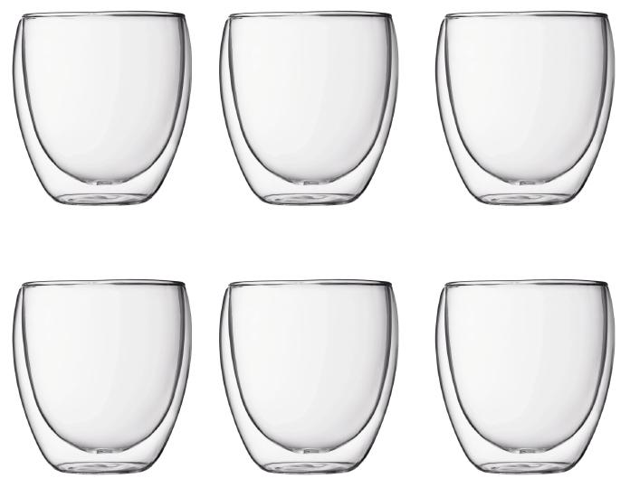 Bodum Pavina Outdoor Dubbelväggigt Glas Plast Small 6-pack