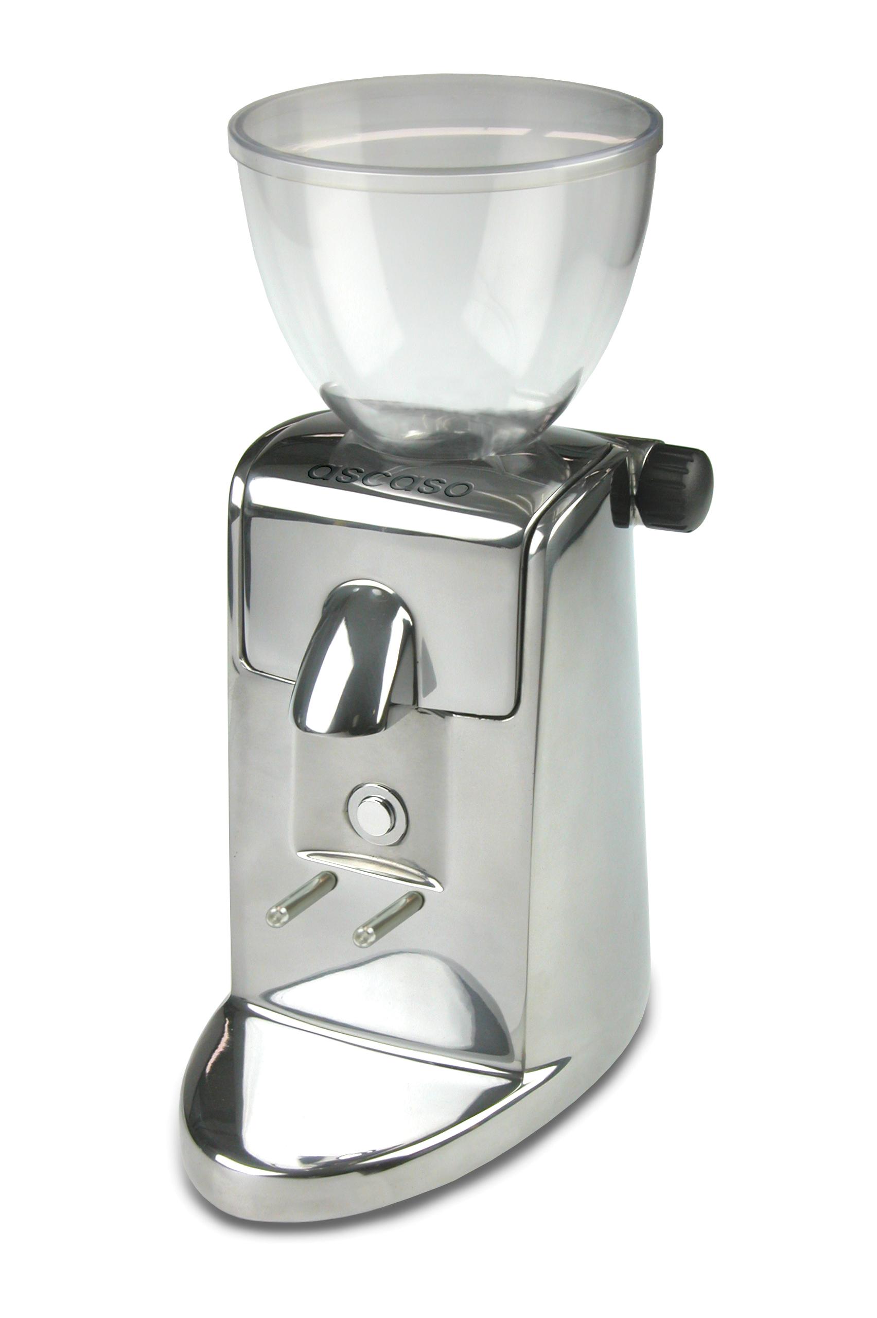 Ascaso Kaffekvarn i-mini 1 Polerad Aluminium