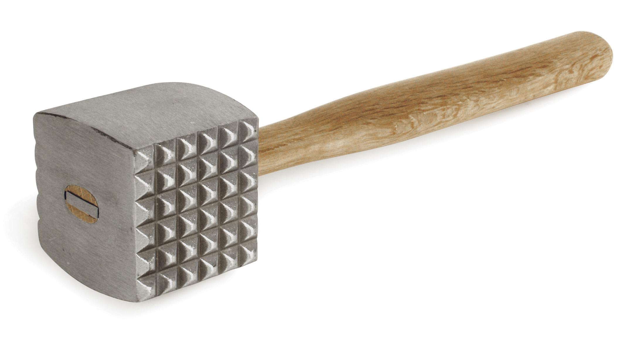 Biffklubba Aluminium med träskaft 33 cm