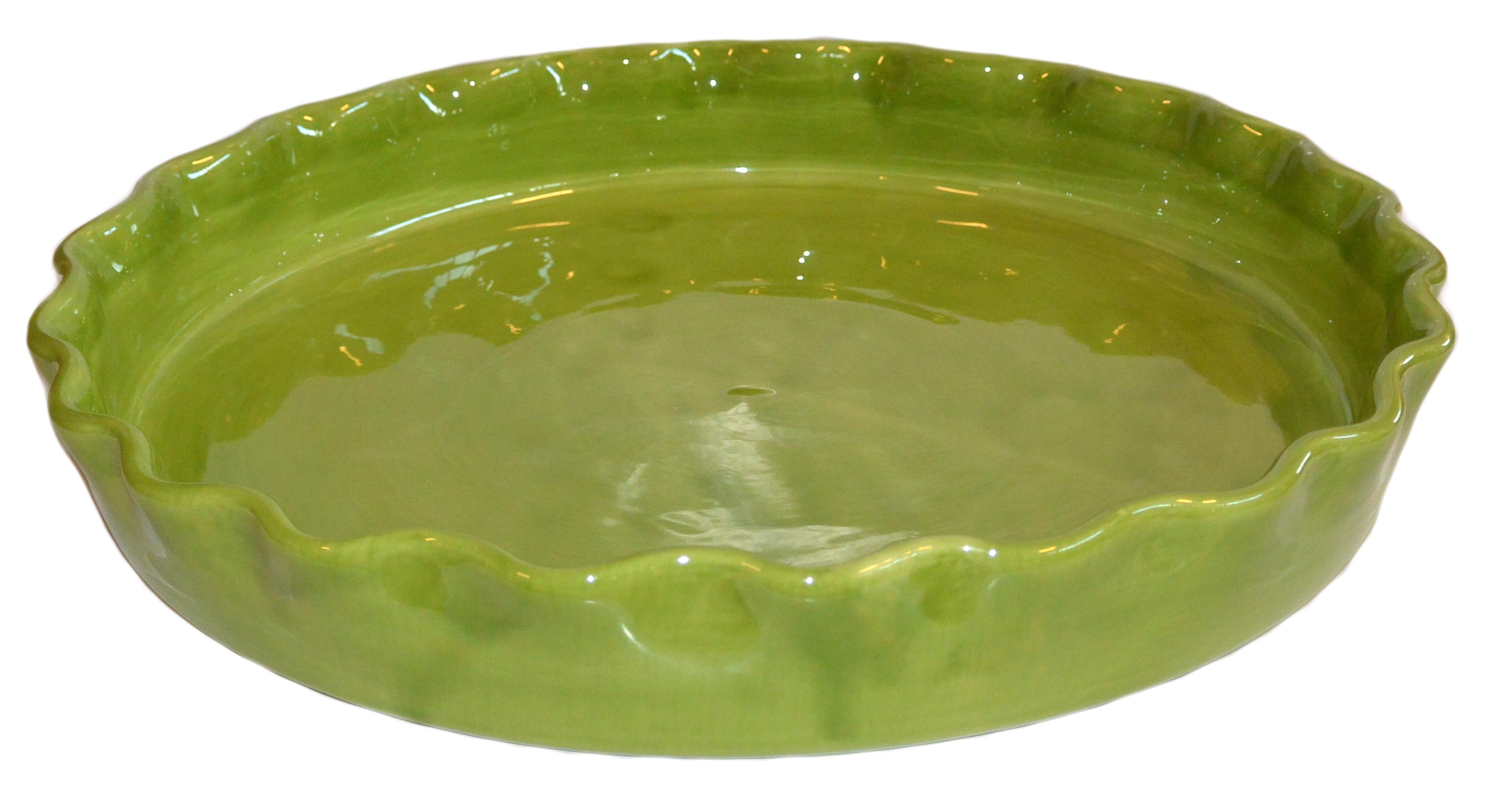 Gerbera Rund Pajform NY Provence Mossgrön B:26 H:3