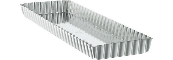 Bakform Rektangulär med löstagbar botten Bleckplåt