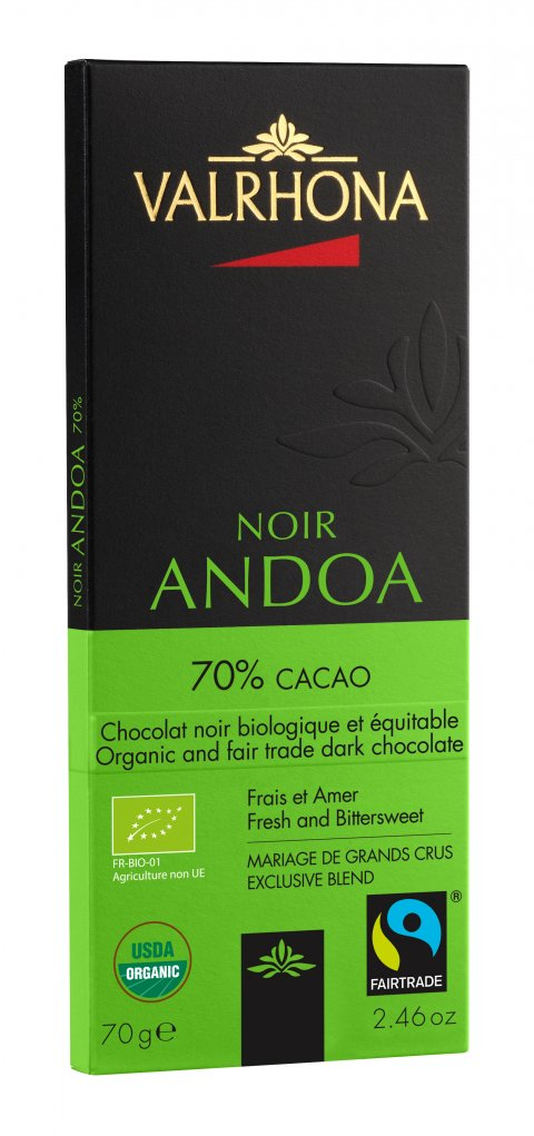 Valrhona Andoa 70% 70 g FTO