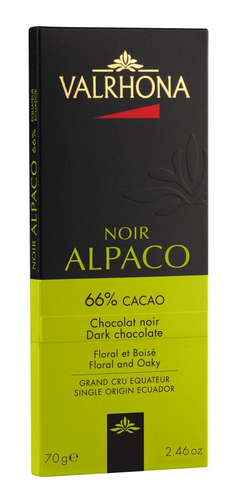 Valrhona Alpaco 66% 70 g