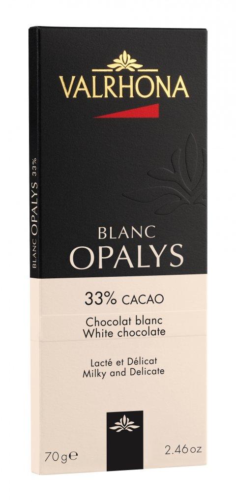 Valrhona Opalys Blanc 33% 70 g