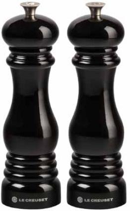 Le Creuset Kvarnset Salt och Peppar Svart 21 cm
