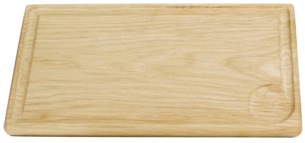 Planksteksbräda i ek Set med 2st + 2st korkunderlägg