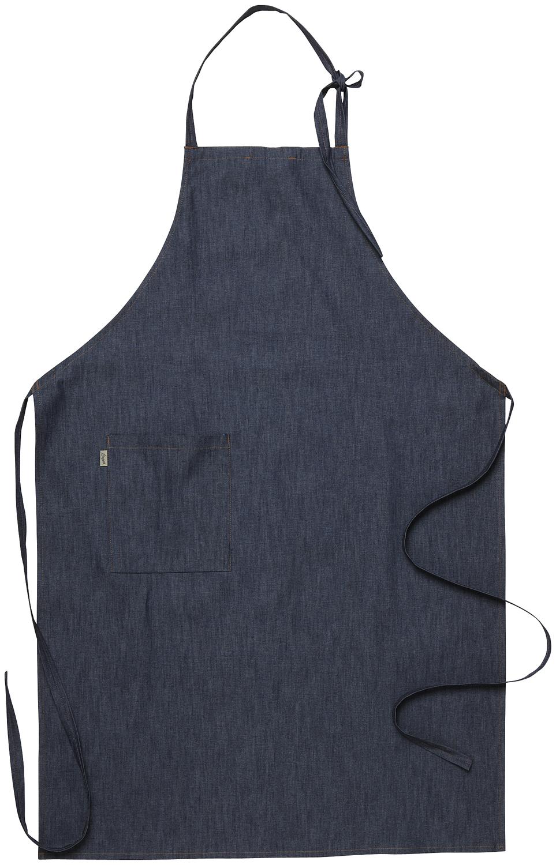 Seger Bröstlappsförkläde Mörkblå Denim