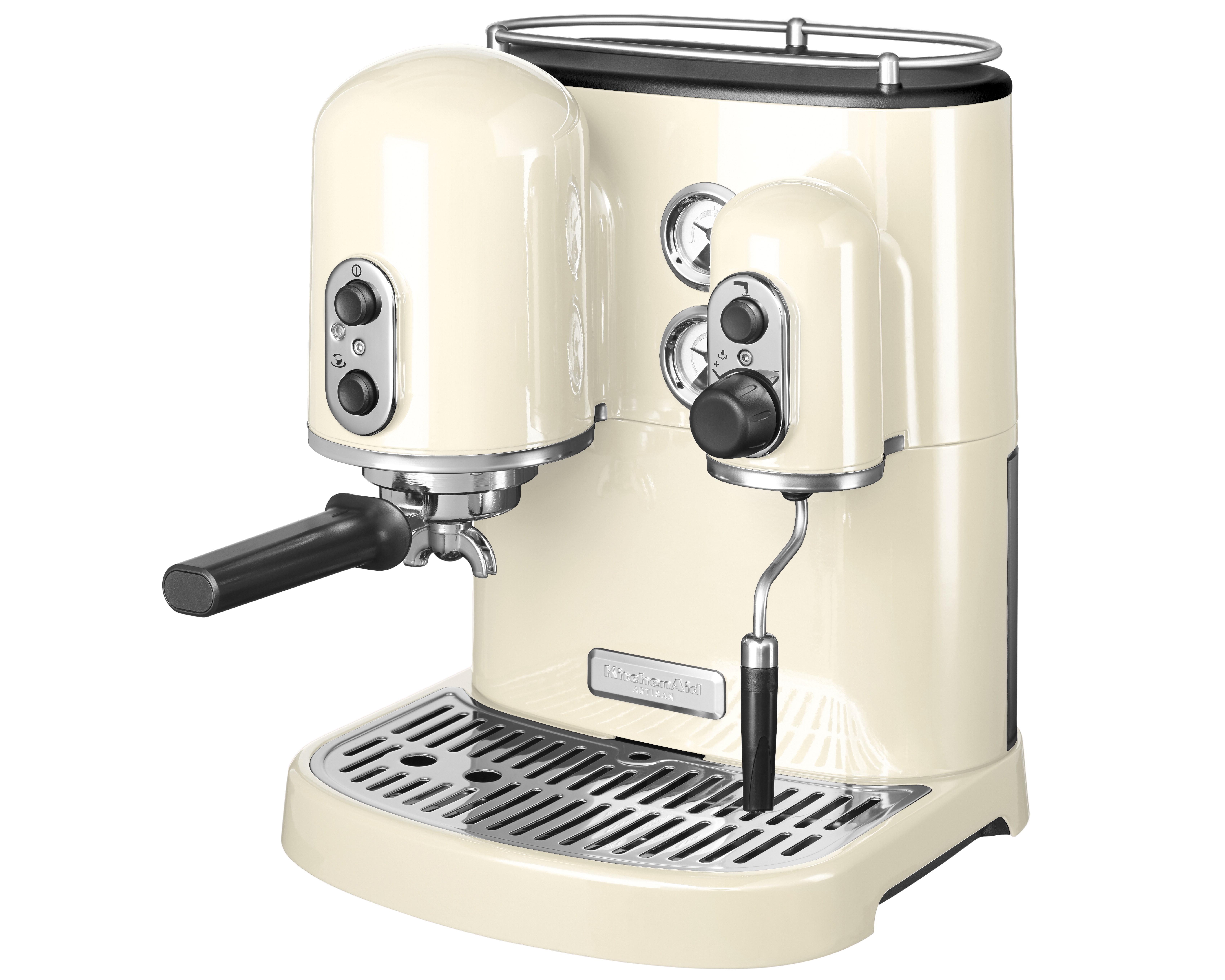 KA Artisan Espressomaskin Creme