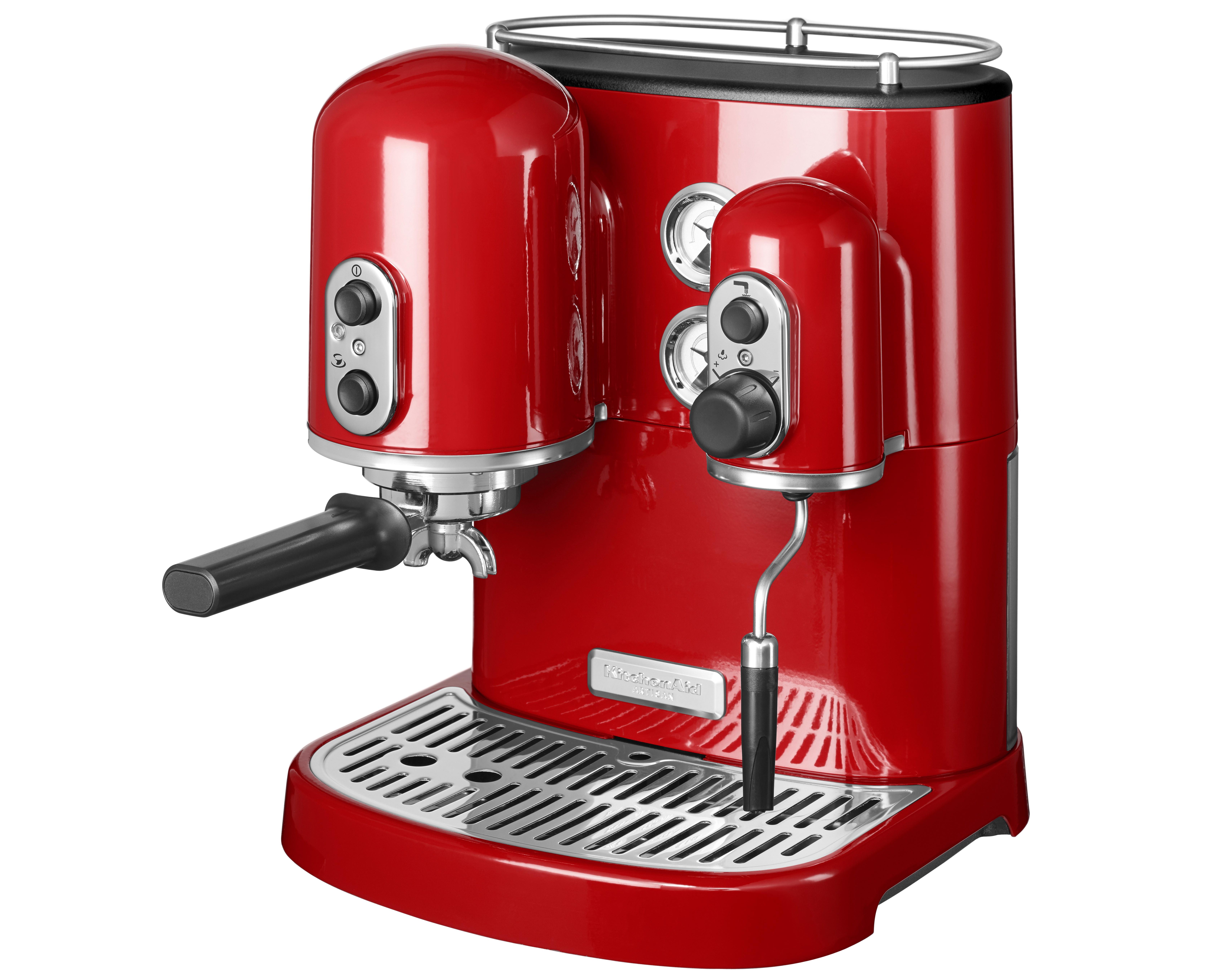 KA Artisan Espressomaskin Röd