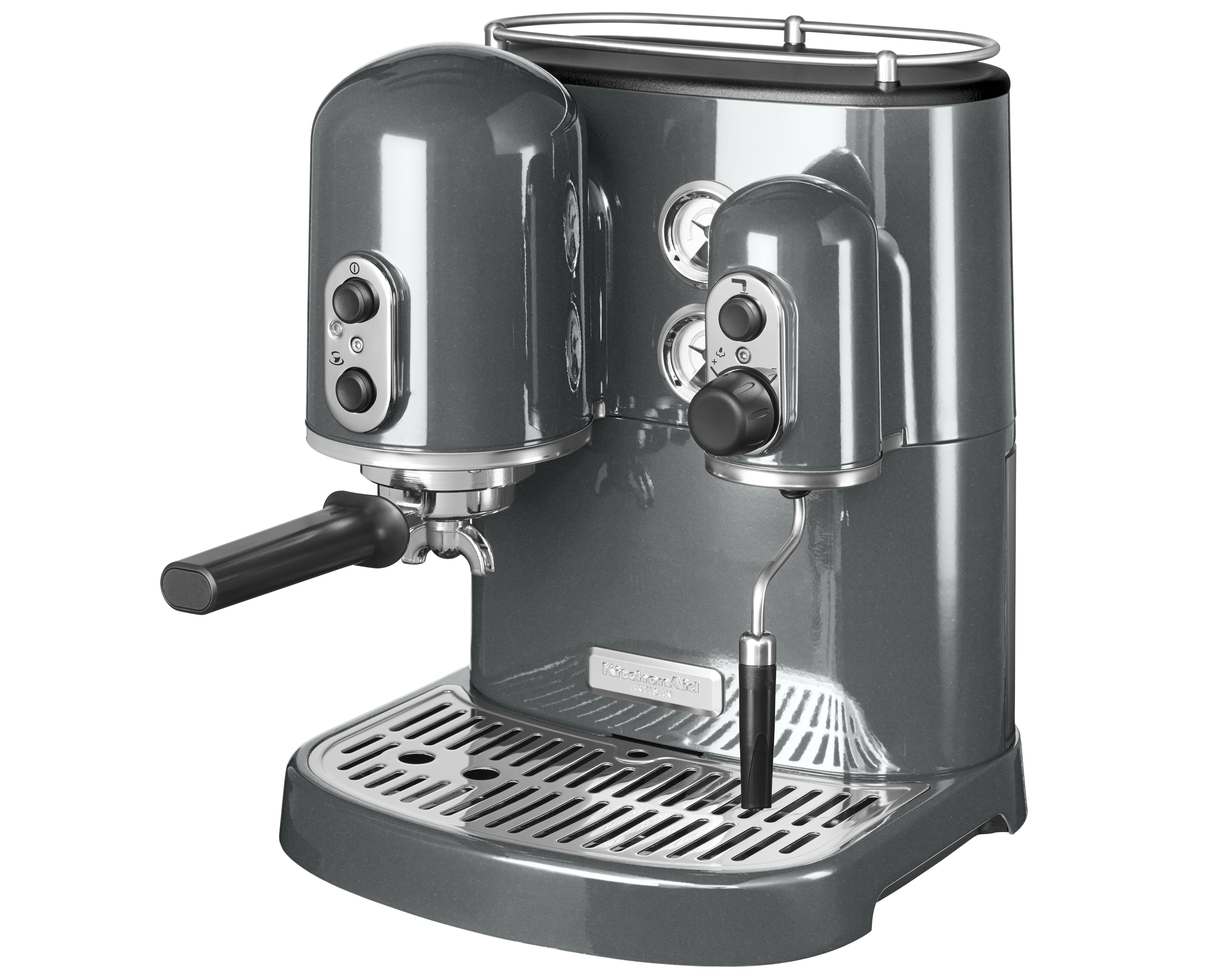 KA Artisan Espressomaskin Grafit Metallic
