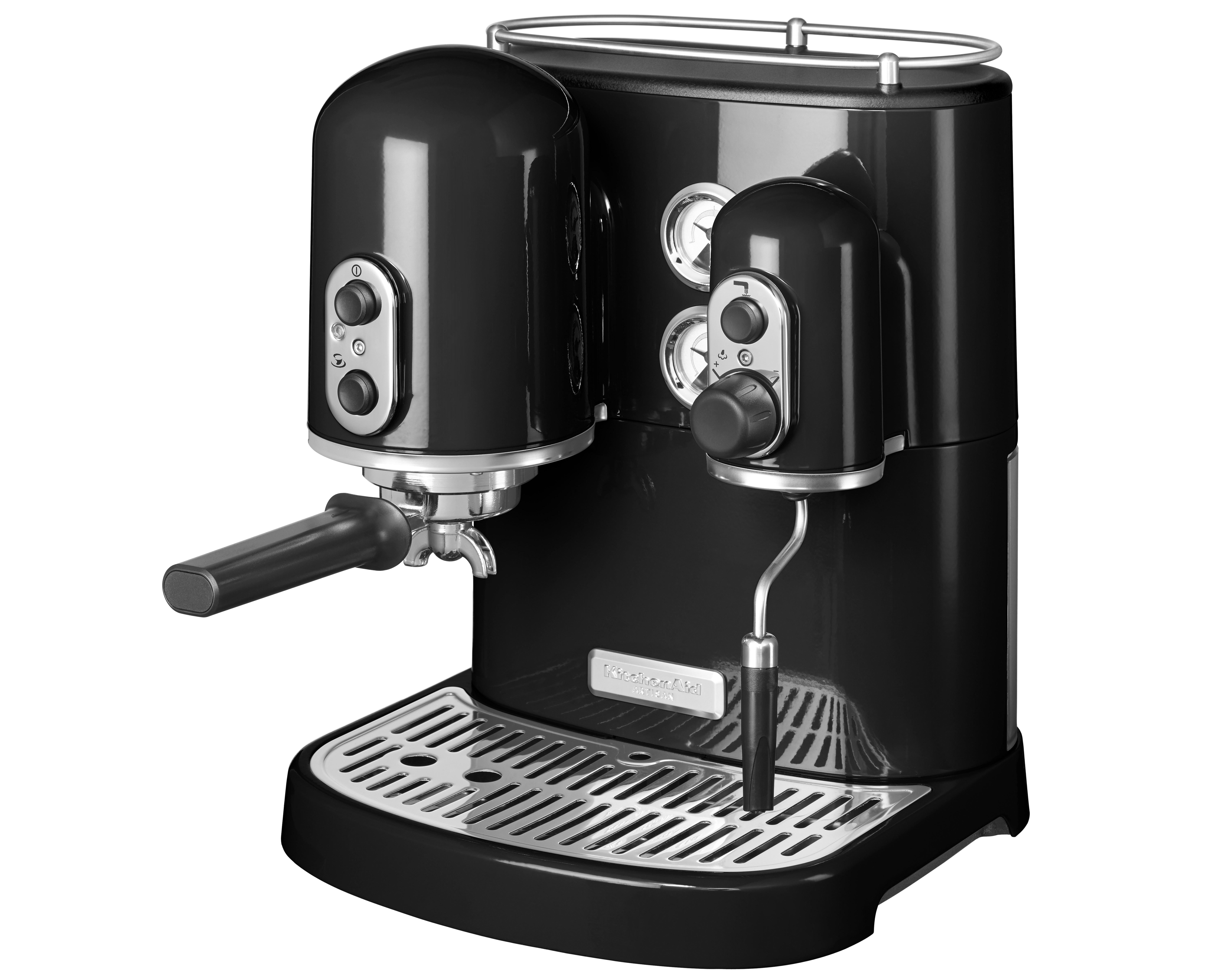 KA Artisan Espressomaskin Svart