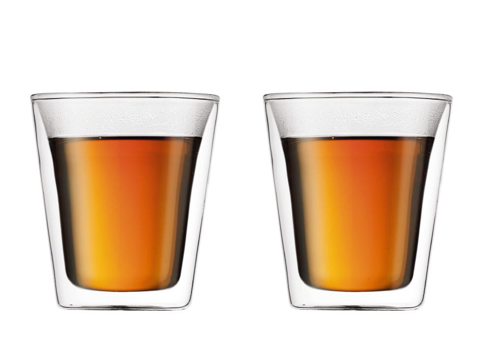 Bodum Canteen Dubbelväggigt Glas Medium 2 pack
