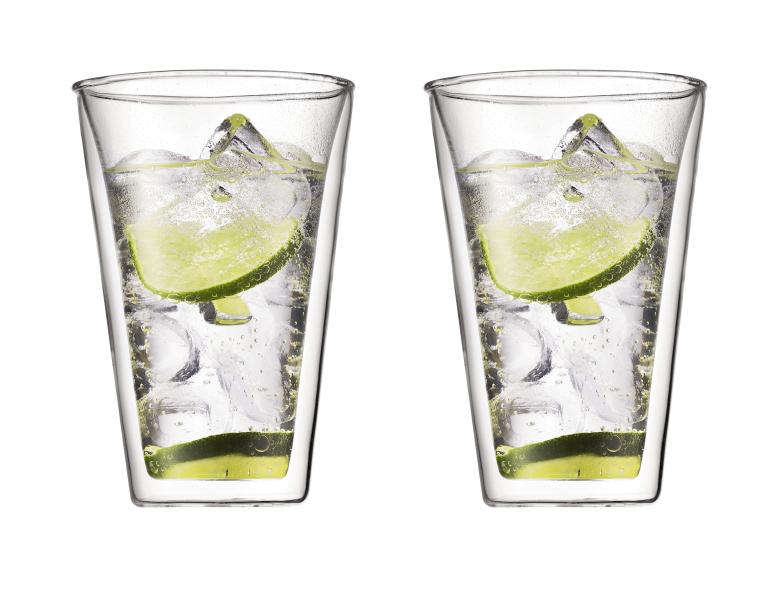 Bodum Canteen Dubbelväggigt Glas Large 2 pack