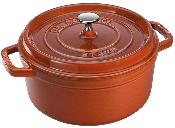 Staub Rund Gryta 26 cm 5,2 liter Cinnamon